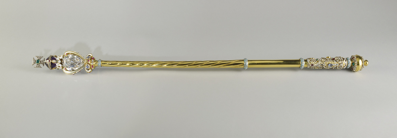 The Sovereign's Sceptre with Cross