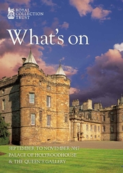 What's on: Edinburgh September to November 2017 Front Cover