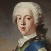 Painting of Bonnie Prince Charlie