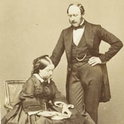 Photograph of Queen Victoria and Prince Albert