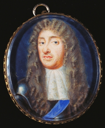 Susannah-Penelope Rosse was the daughter of the miniature painter, Richard Gibson, and his wife Anne. She too became a miniature painter, and George Vertue records that 'her first manner she learnt of her father, but being inamour'd with Cooper's limnings