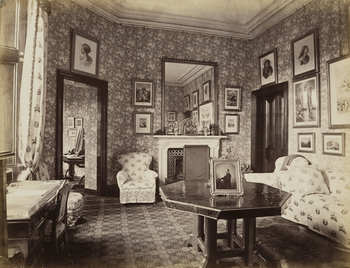 Prince Consort's Room, Balmoral. [Photographs of Balmoral in the time of Queen Victoria. ]