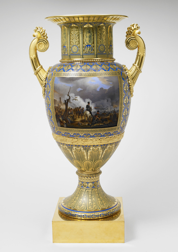 Master: Pair of supporting vases