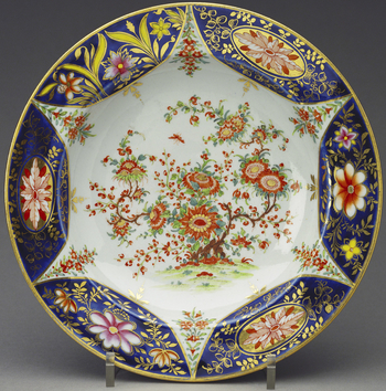 Master: Soup plates (part of the Harlequin service) Item: The Harlequin Service
