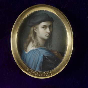 Raphael Santi was one of the finest painters of the Renaissance. He was born in Urbino, son of the painter Giovanni Santi. It was probably his early experience at the court of Urbino that gave him the social skills and charm for which he was renowne