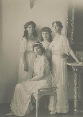 Tsar Nicholas II and Tsarina Alexandra Feodorovna's children