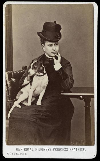 Princess Beatrice, Oct 1876. Cartes de Visite, Balmoral