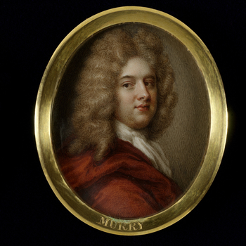 Thomas Murray (1663-1735) was a Scottish portrait painter, who first studied with a member of the De Critz family and was then a pupil of the portrait painter John Riley, taking over his studio when Riley died in 1691. In 1703, he painted Queen Anne for t