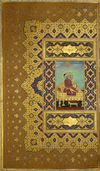 f.3a: Shah-Jahan (plate 4)