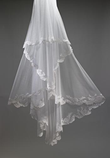 Hrh The Ss Of Cambridge S Wedding Veil Explore Exhibition
