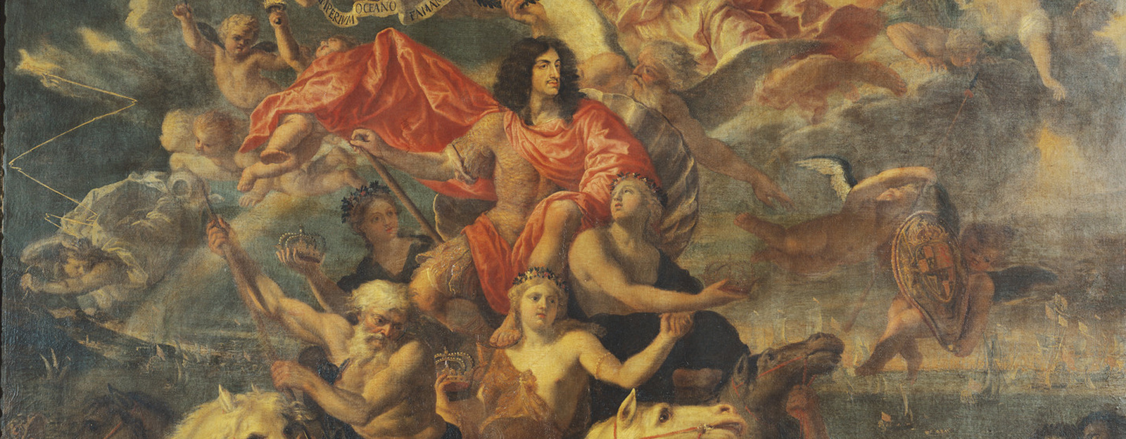The Sea Triumph of Charles II by Antonio Verrio