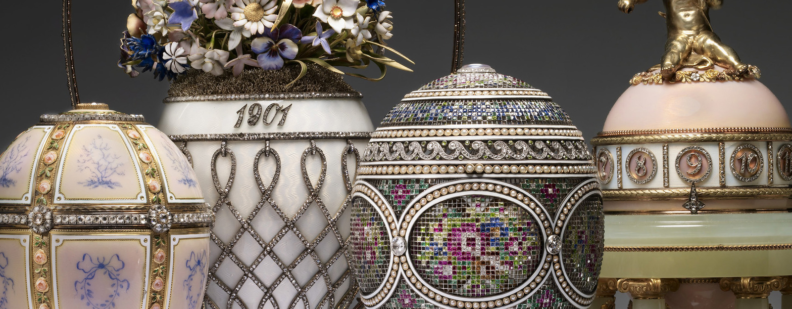 Collection of Faberge Eggs