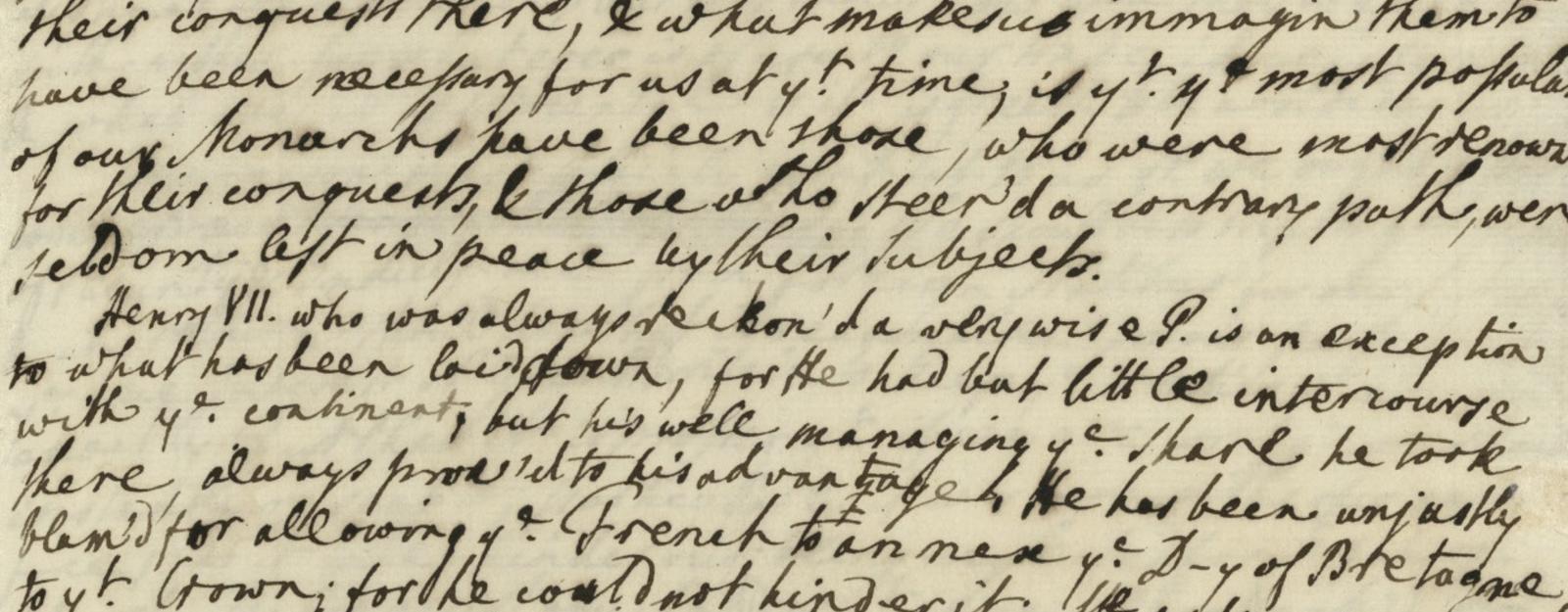 George III Essay sample