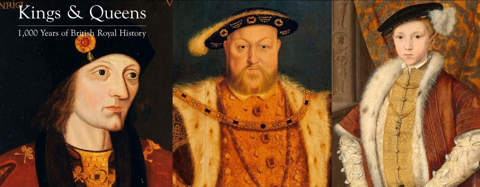 Portraits of Henvry VII, Henry VIII and Edward VI