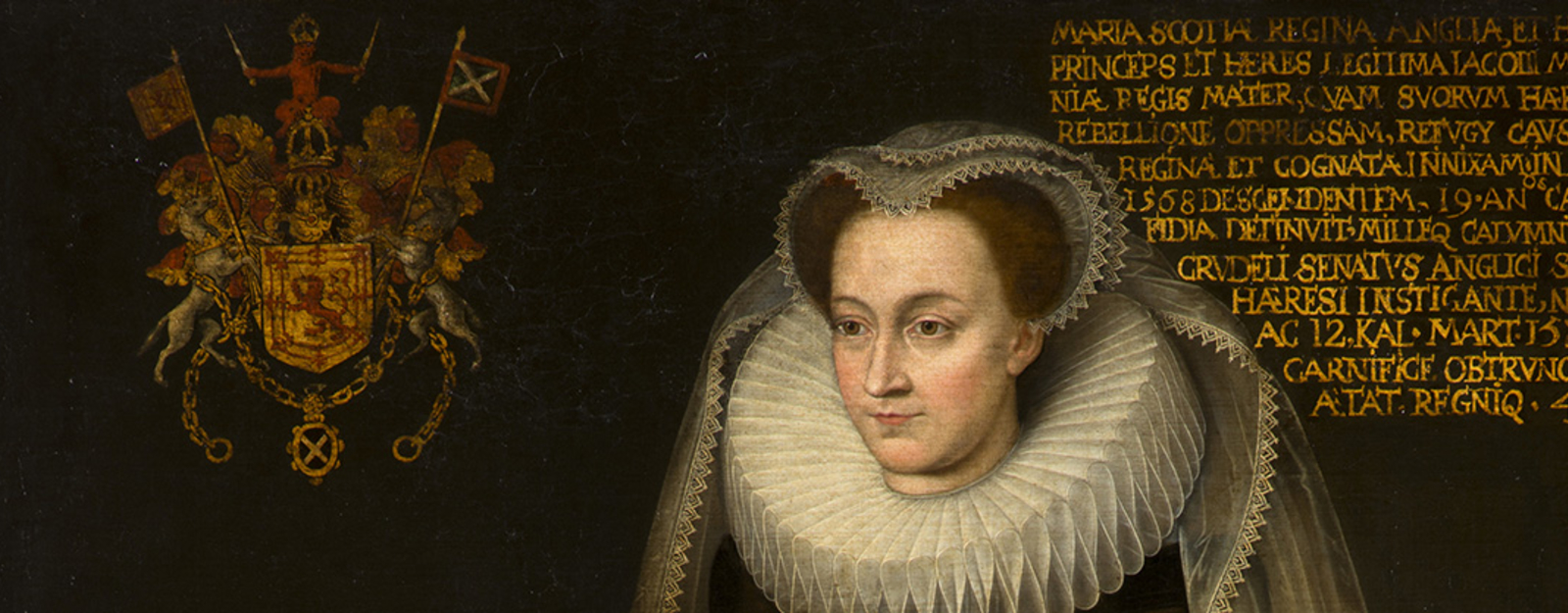 Posthumous portrait of Mary Queen of Scots