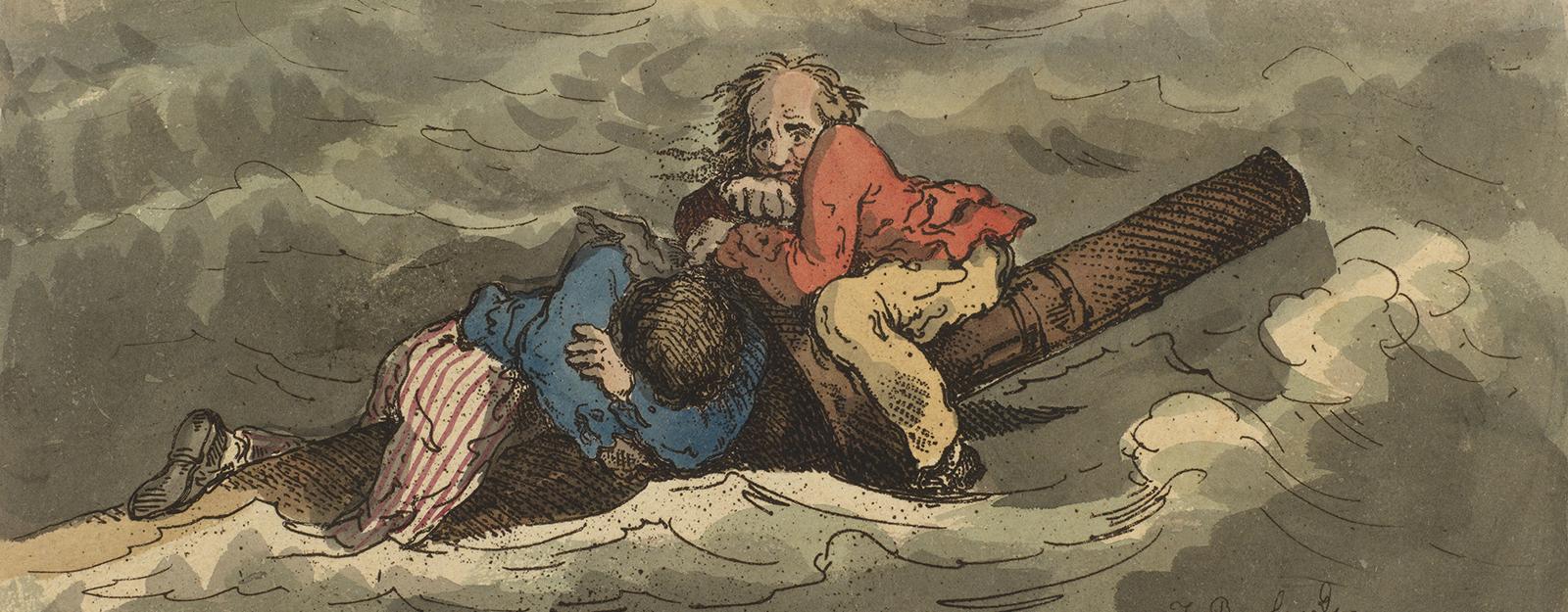 Misery, Thomas Rowlandson