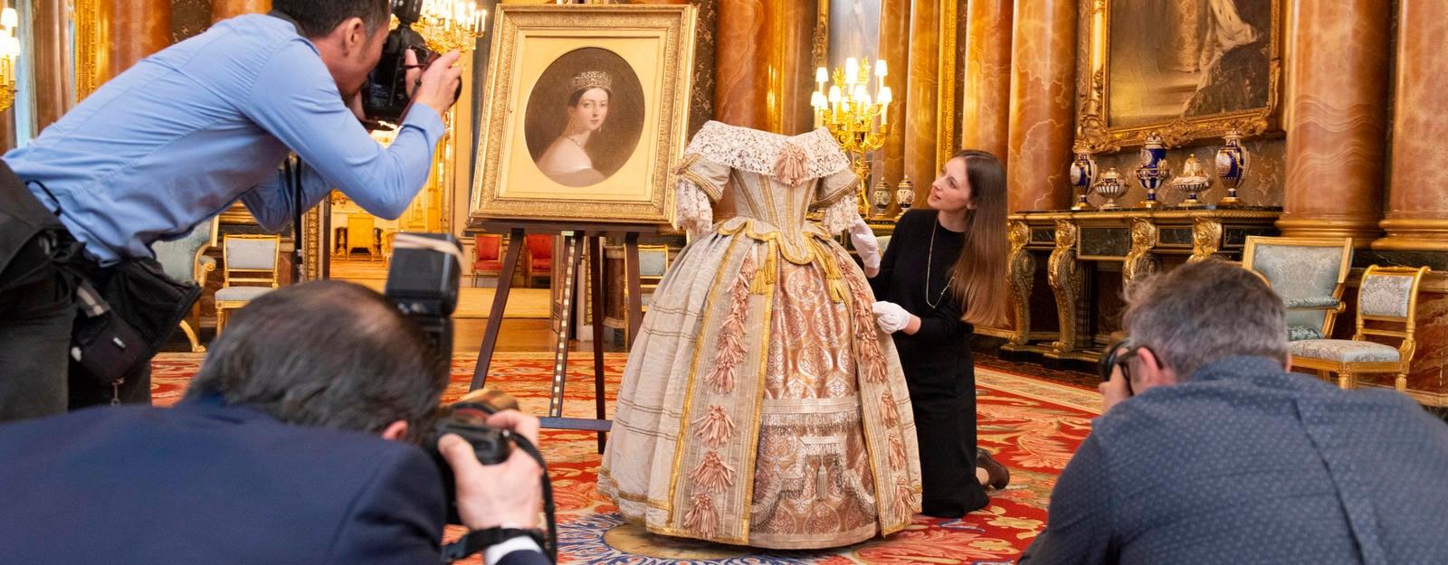 Media at a photo-call at Buckingham Palace