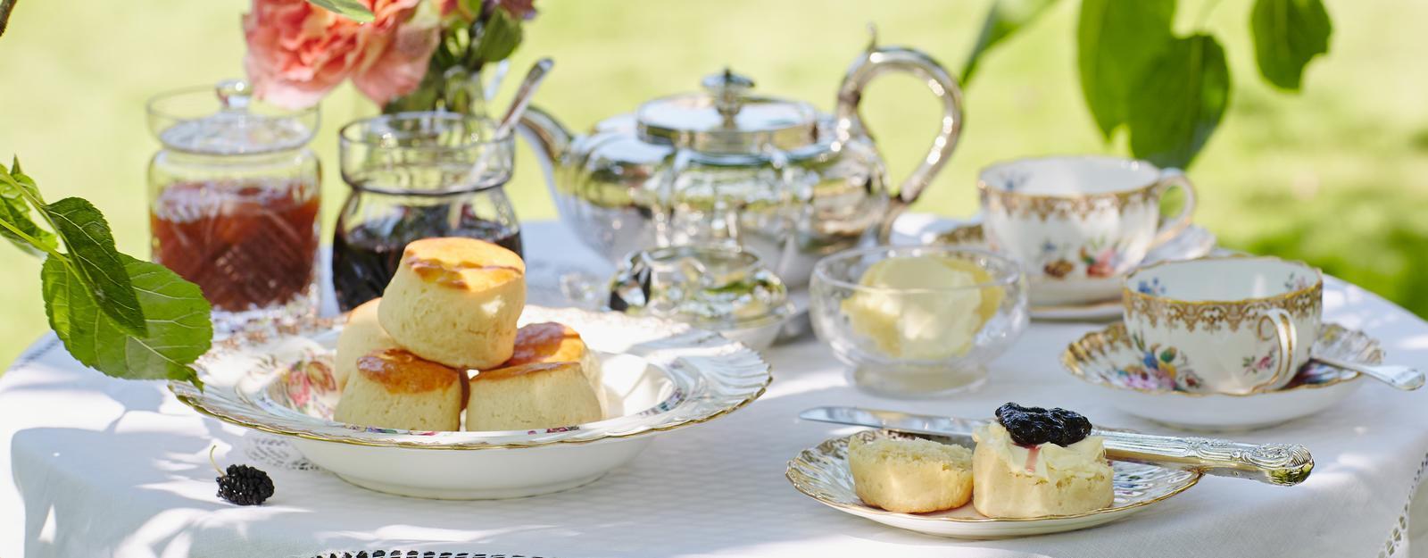 'Royal Teas' scones