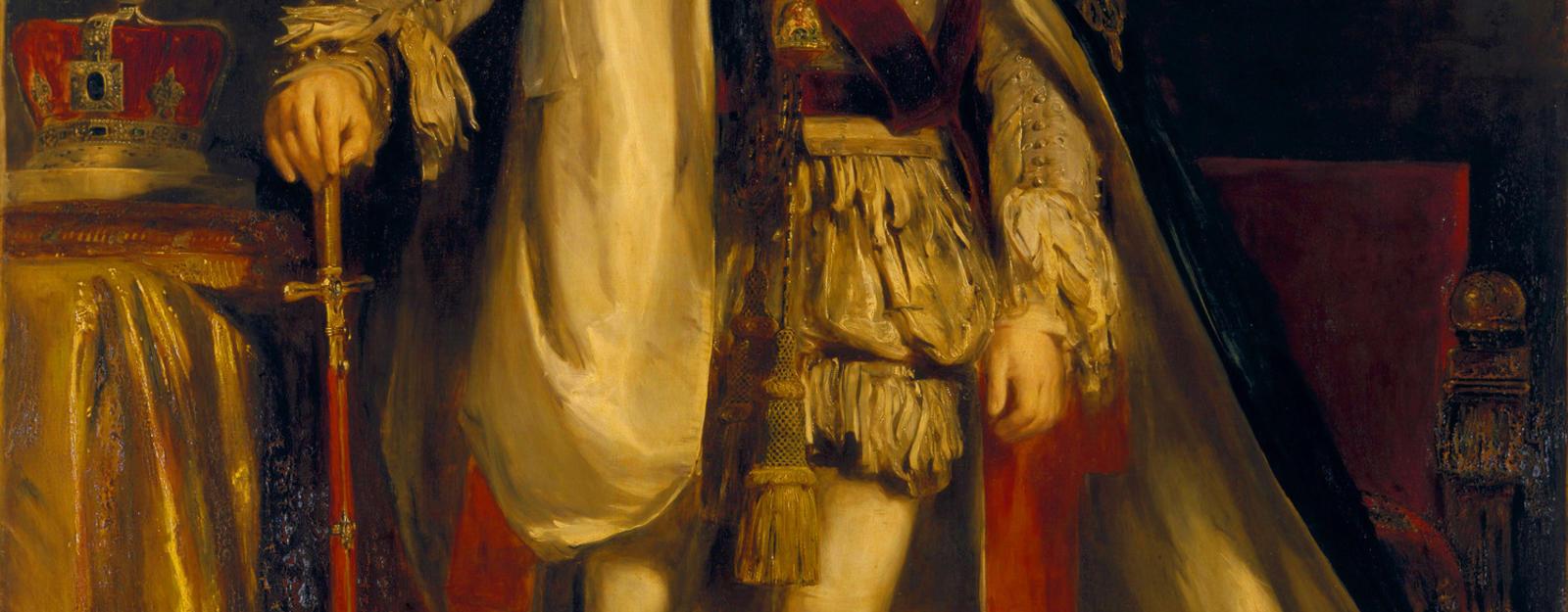 Portrait of William IV in Garter Robes