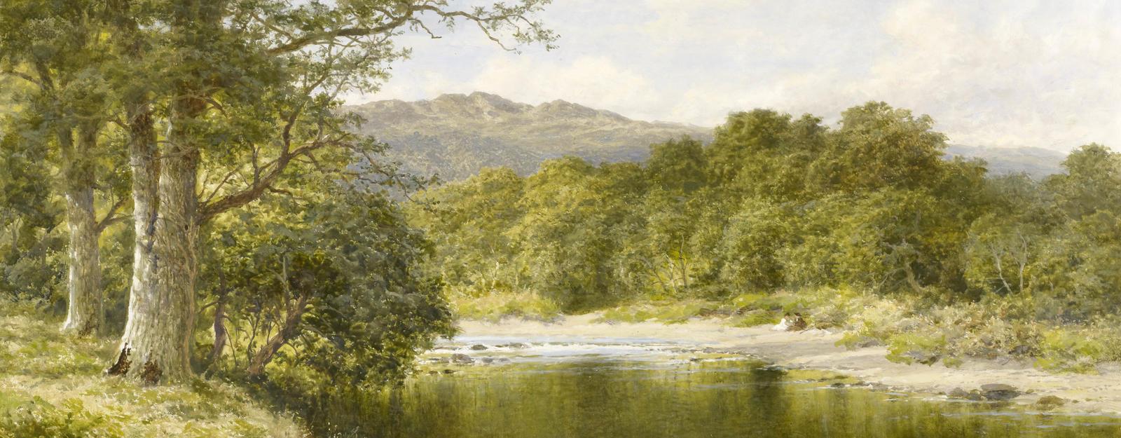 The River Llugwy near Bettws-y-Coed