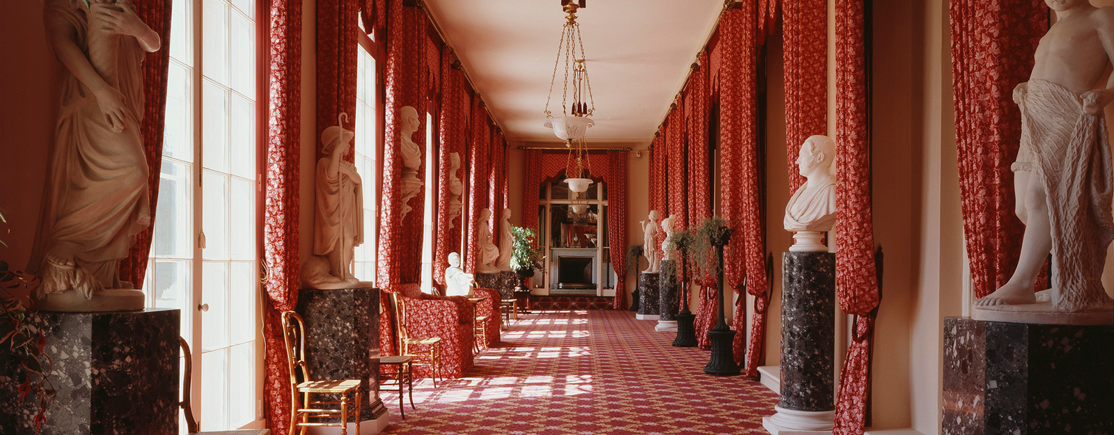 The Colonnade at Frogmore House.