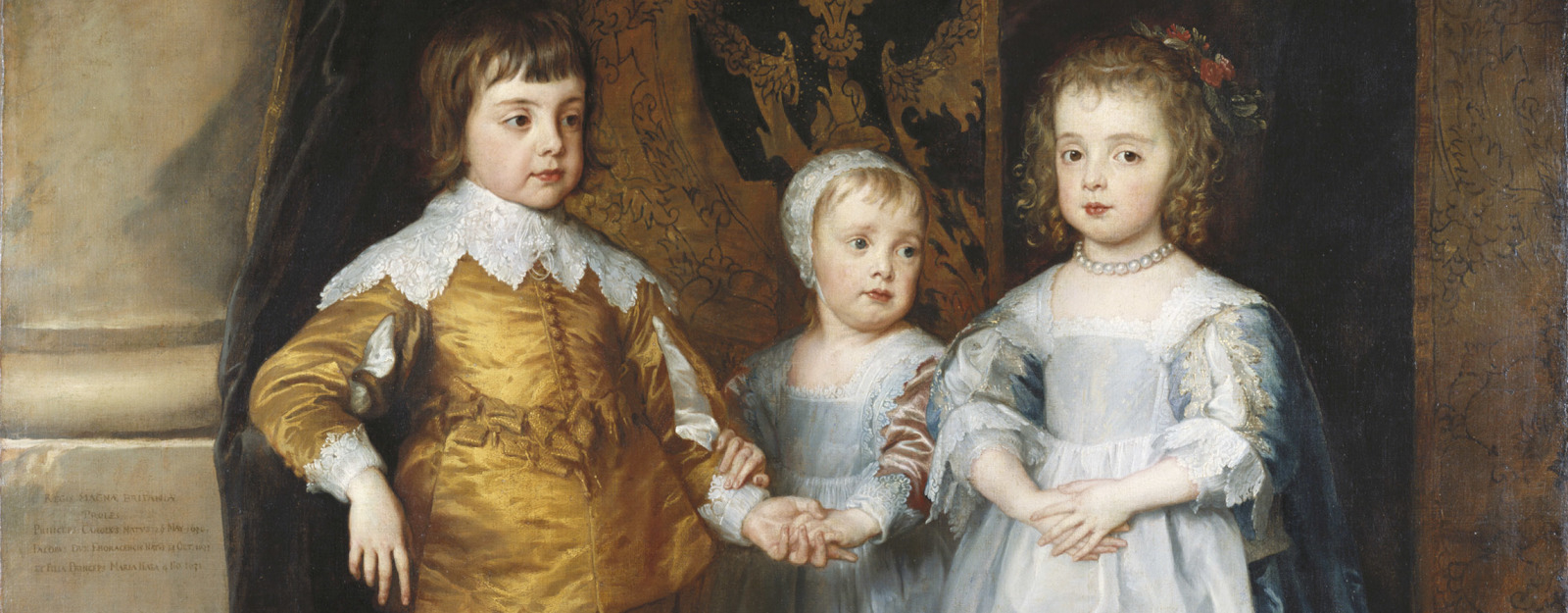 Sir Anthony van Dyck's 'The Three Eldest Children of Charles I'