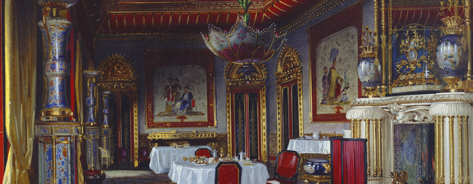 Course Study Day Chinoiserie At Buckingham Palace And