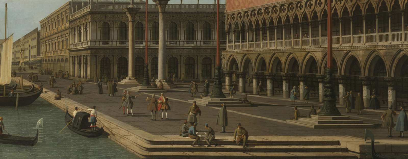 Image by Canaletto in Venice