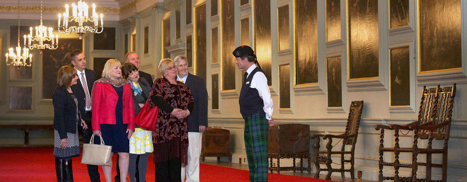 An Exclusive Evening Tour at the Palace of Holyroodhouse