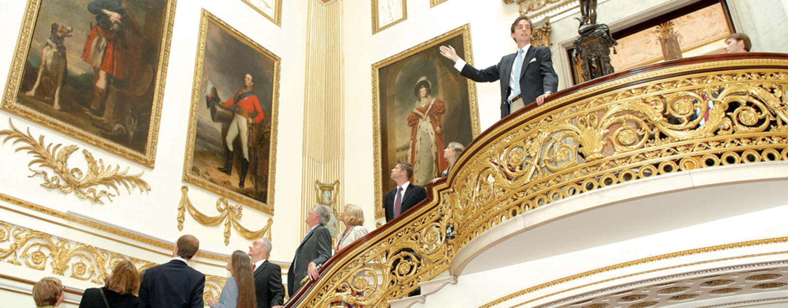 Enjoy an Exclusive Guided Tour through the State Rooms at Buckingham Palace