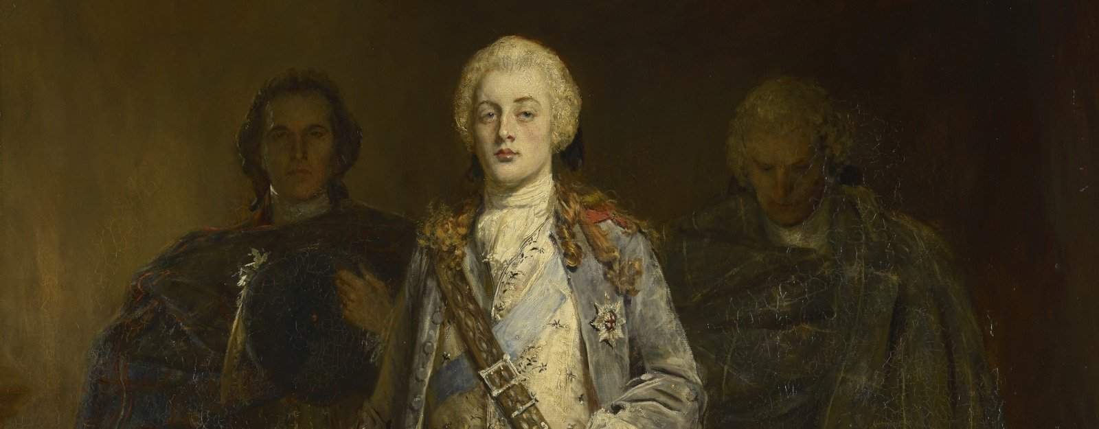 John Pettie, Bonnie Prince Charlie Entering the Ballroom at Holyroodhouse, 1892