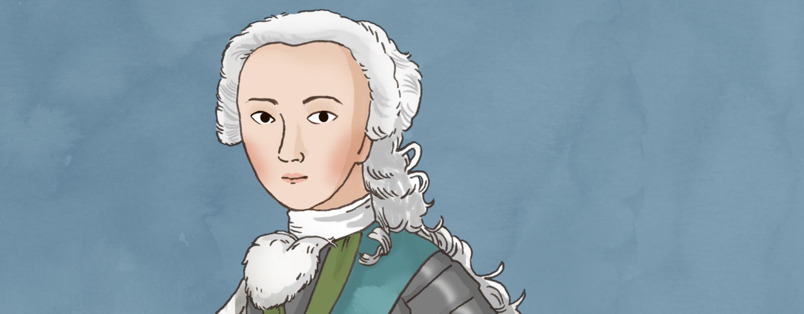 Illustration of Bonnie Prince Charlie