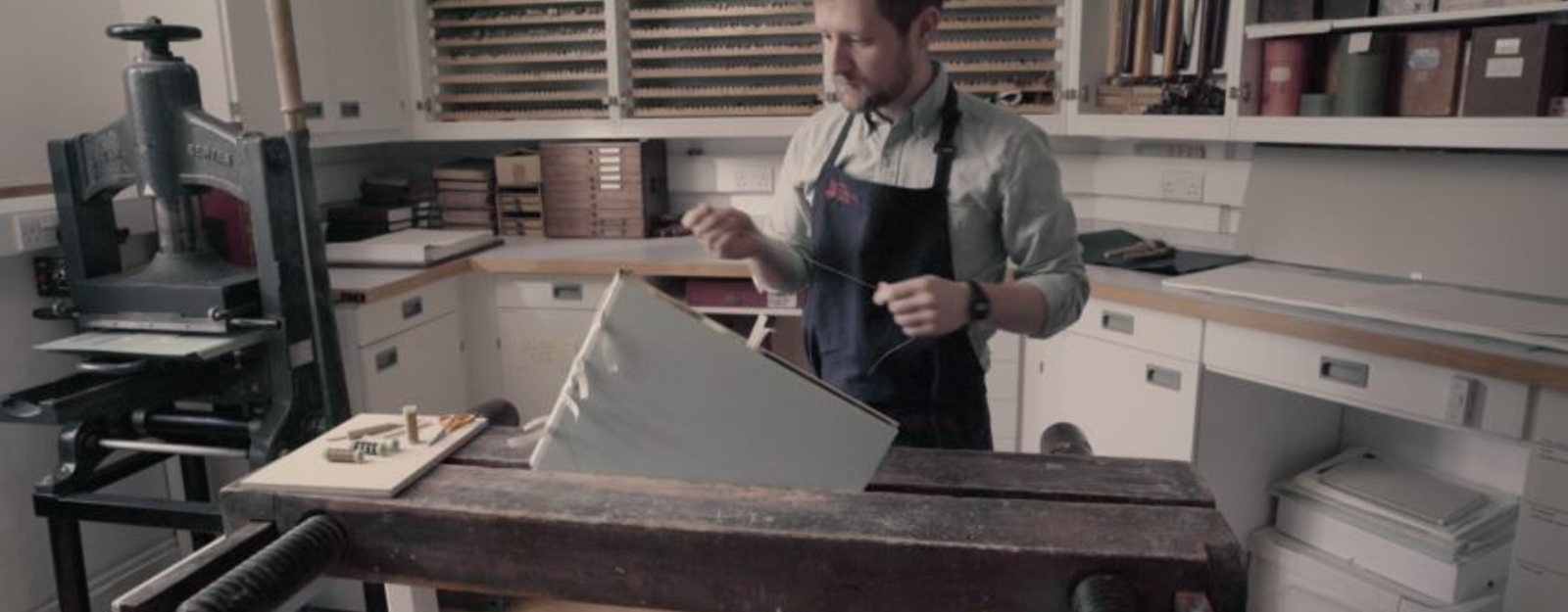 Royal Bindery working on facsimile