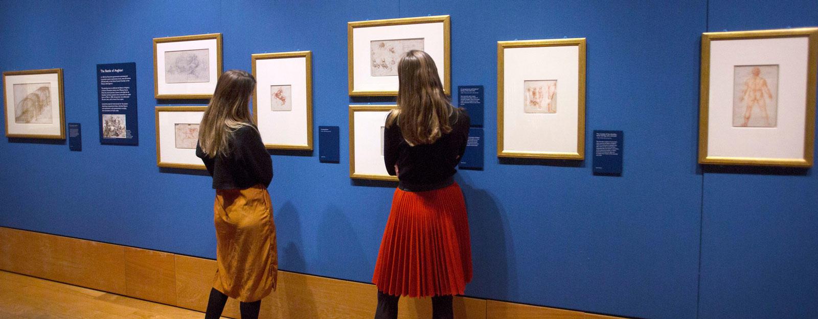 Visitors at Leonardo da Vinci: A Life in Drawing