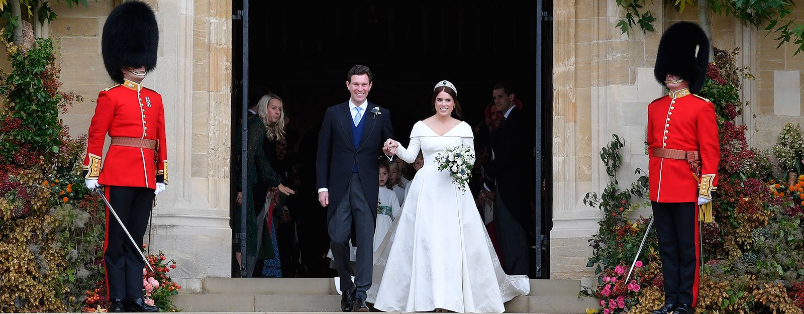 The wedding of Princess Eugenie and Mr Jack Brooksbank in St George's Chapel, Windsor Castle