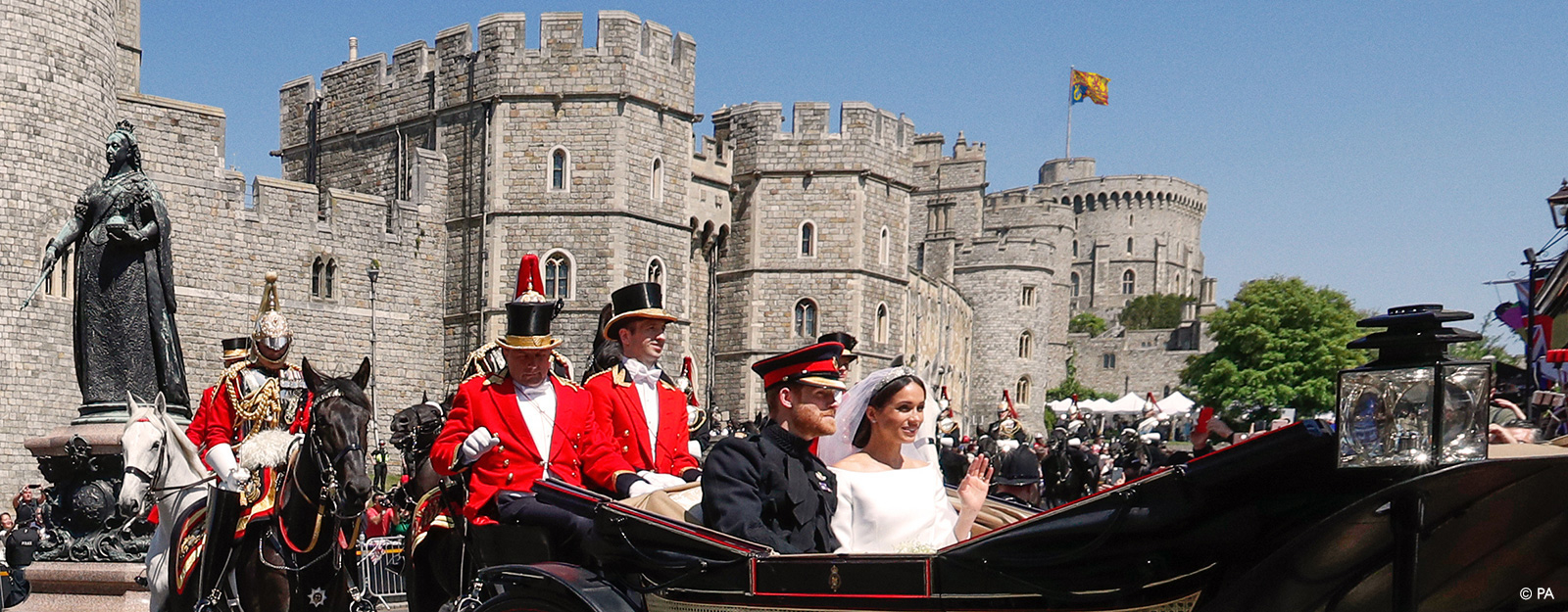 The wedding of The Duke and Duchess of Sussex at Windsor Castle