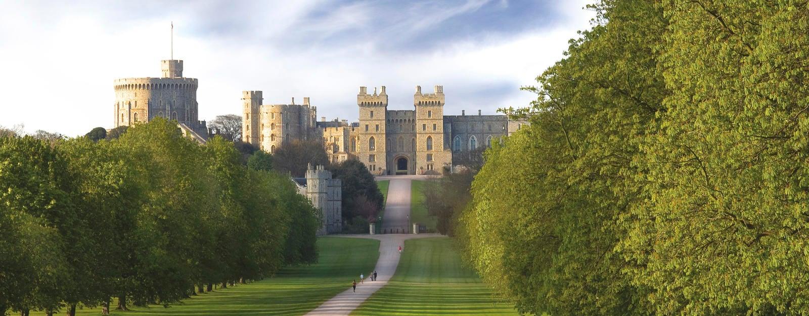 The long walk to Windsor Castle