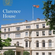 Clarence House in the sunshine