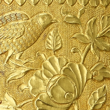 Detail from a gold scabbard