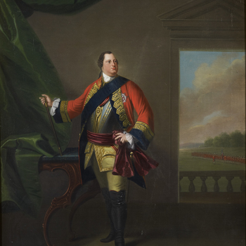Morier was a Swiss military and sporting painter who started working for William Augustus, Duke of Cumberland (1721-65) in 1747, when he painted a series of pictures of troops under his command. From 1752 until 1764 he was employed as 'limner'