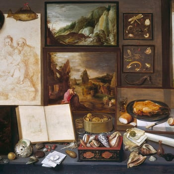 Frans Francken the Younger was the most famous of an Antwerp dynasty of painters; he trained with his father, Frans the Elder (1542-1616), and joined the Antwerp guild in 1605. He was a painter of religious and historical subjects as well as being the inv