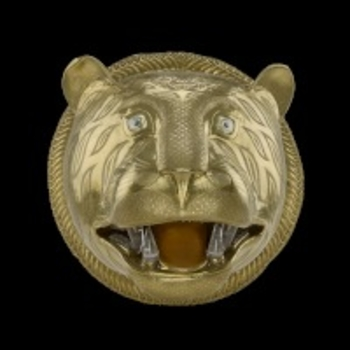 Tiger's head from Tipu Sultan's throne