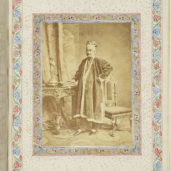 The autobiography of Amir Ali Khan (1810–1880), legal and financial advisor to Wajid Ali Shah, the last Nawab of Awadh, after his deposition in 1856. The text is written in Persian with an abstract in English in which the author summarises his favou