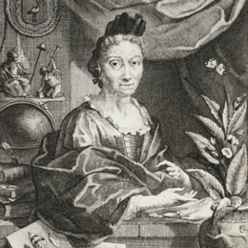 Portrait of Maria Sybella Merian, taken from a print