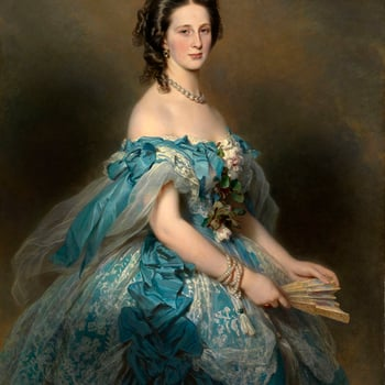 <p>Considered a great beauty in her youth, with a tall, graceful figure, the Grand Duchess Alexandra, or &lsquo;Sanny&rsquo;, was the fifth daughter of Joseph, Duke of Saxe-Altenburg and Amalie Therese Louise, Duchess of W&uuml;rttemberg. In September 184