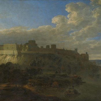 Vorsterman was a Dutch landscape painter, pupil in Utrecht of Herman Saftleven (1609-85), who came to England during the reign of Charles II. 