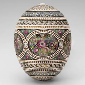 Faberge's Mosaic Easter egg