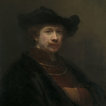 It is not perhaps surprising that Rembrandt, the greatest artist of seventeenth-century Holland, should have been so self-indulgent in depicting his own likeness. Rembrandt literally paints his autobiography by means of some forty pictures, as well as thi