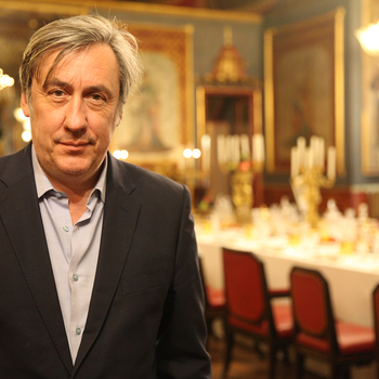 Andrew Graham Dixon in Brighton Pavilion