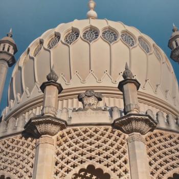architectural dome at Brighton Pavilion